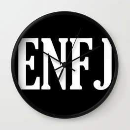 ENFJ Personality Type Wall Clock