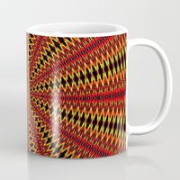 spanish Mugs featuring Spanish sun by Bubblemaker