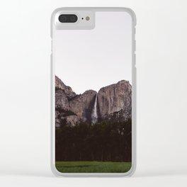 Yosemite Falls IV Clear iPhone Case