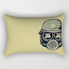 War Skull Rectangular Pillow