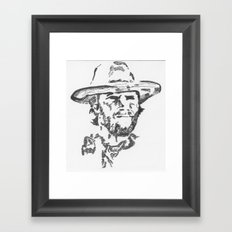 Outlaw Framed Art Print