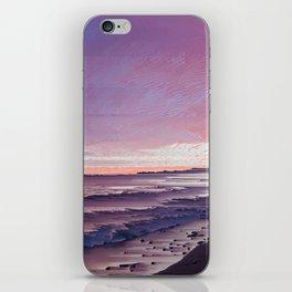 Maui Sunset Pixel Sort iPhone Skin