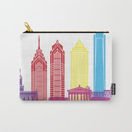Philadelphia skyline pop Carry-All Pouch