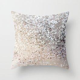 Sparkling GOLD Lady Glitter #6 #decor #art #society6 Throw Pillow