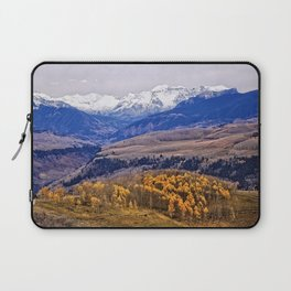 Mountain majesty and autumn gold Laptop Sleeve