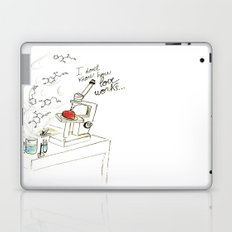 I don't know how love works Laptop & iPad Skin