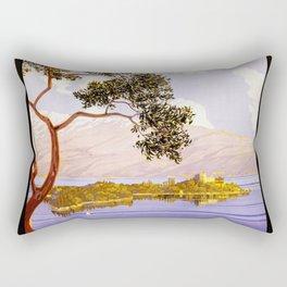 1920 Lake Garda Italy Rectangular Pillow