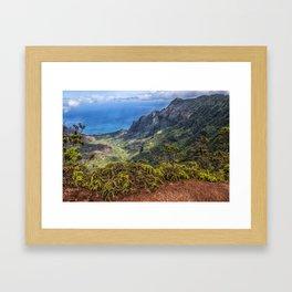 Kalalau Valley, Kauai  Framed Art Print