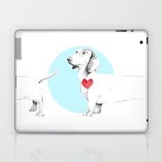 Long dog Laptop & iPad Skin