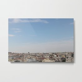 madrid skyline Metal Print