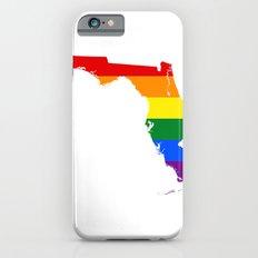 Florida LGBT Pride Flag Slim Case iPhone 6s