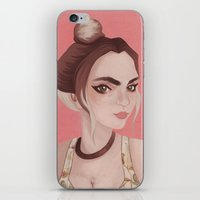 boho iPhone & iPod Skins featuring Boho by karolindie