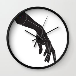 A Touch of Color Wall Clock