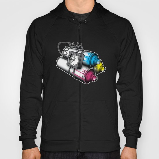 Graffiti Bombing Hoody