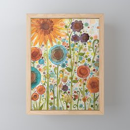Florets Framed Mini Art Print