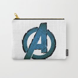 UNREAL PARTY 2012 AVENGERS LOGO FLYERS Carry-All Pouch