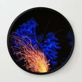 Nightlife Wall Clock