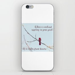 Visitor from Heaven iPhone Skin