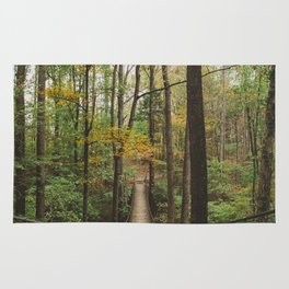 A Walk in the Woods, No. 2 Rug