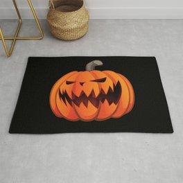 Jack O' Lantern Halloween Pumpkin Rug