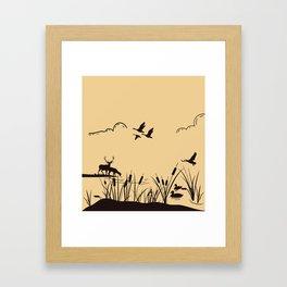 Hunting ground Framed Art Print