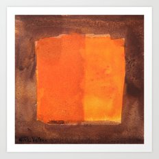 color abstract 6 Art Print