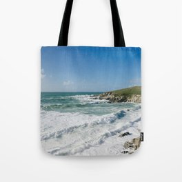Little Fistral, Newquay, Cornwall Tote Bag