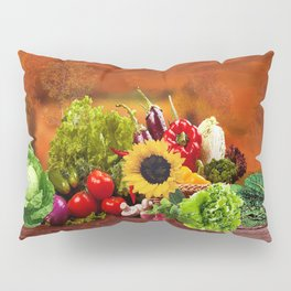 Fall Harvest Profusion Pillow Sham