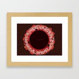 Planet Eight Framed Art Print