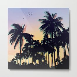 palm tree summer Metal Print