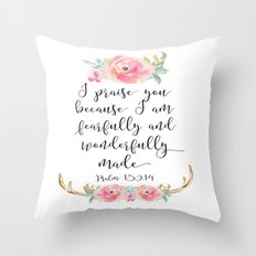 Psalm Throw Pillow