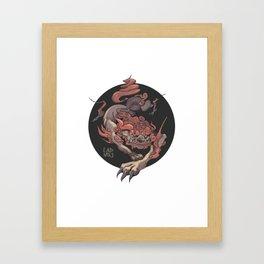 KOMAINU Framed Art Print