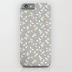 loves me loves me not pattern - pastel iPhone 6s Slim Case