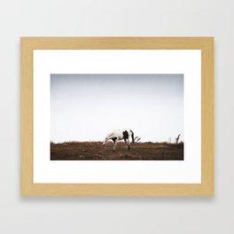 Shake Framed Art Print
