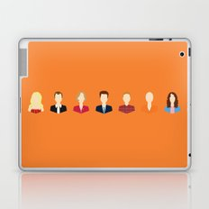 Arrested Development Characters Print  Laptop & iPad Skin