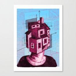 Househead 2 Canvas Print
