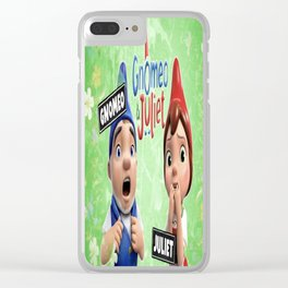 Gnomeo and Juliet Clear iPhone Case