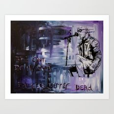 Layne Staley Art Print