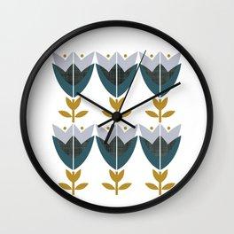 MCM Tulp Wall Clock
