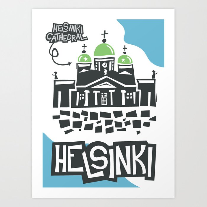 Helsinki Cathedral Helsinki Art Print