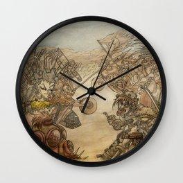 8x8 Wall Clock