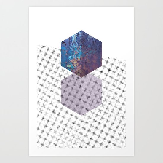 Rough diamonds Art Print
