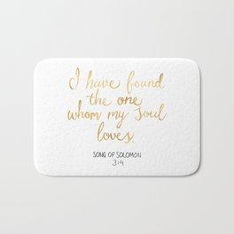Song of Solomon 3:4 - Customer Request Bath Mat