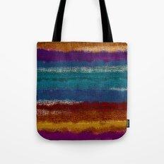 Knit stripes Tote Bag