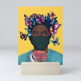 """Abraza La vida"" Adelle Hart. Mini Art Print"
