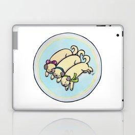 Snug as a Pug on a Rug Laptop & iPad Skin