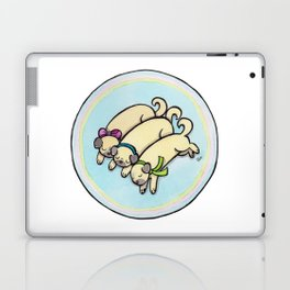 Snug as a Pug on a Rug Laptop & iPad Skin