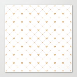 Valentine's Day Pattern | Love Heart Relationship Canvas Print