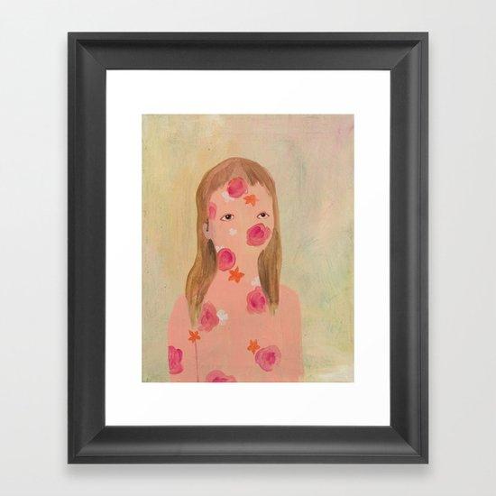 hello s6! Framed Art Print