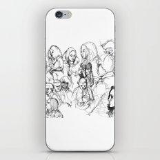 Transit People iPhone & iPod Skin